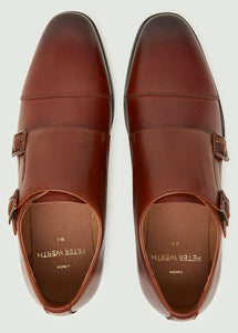 Jacob Monk Shoe- Tan