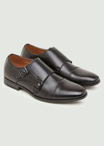 Jacob Monk Shoe - Black