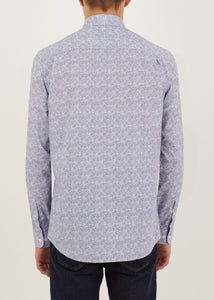 Judkin Long Sleeved Shirt  - White/Black