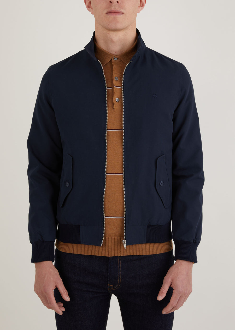 Labour Harrington Jacket - Navy