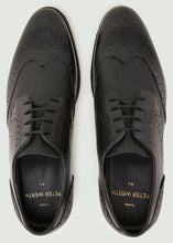 Load image into Gallery viewer, Madrid Textured Brogue - Black
