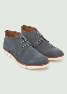 Markham Suede Boots - Grey