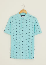 Load image into Gallery viewer, Marlin Polo Shirt - Light Blue