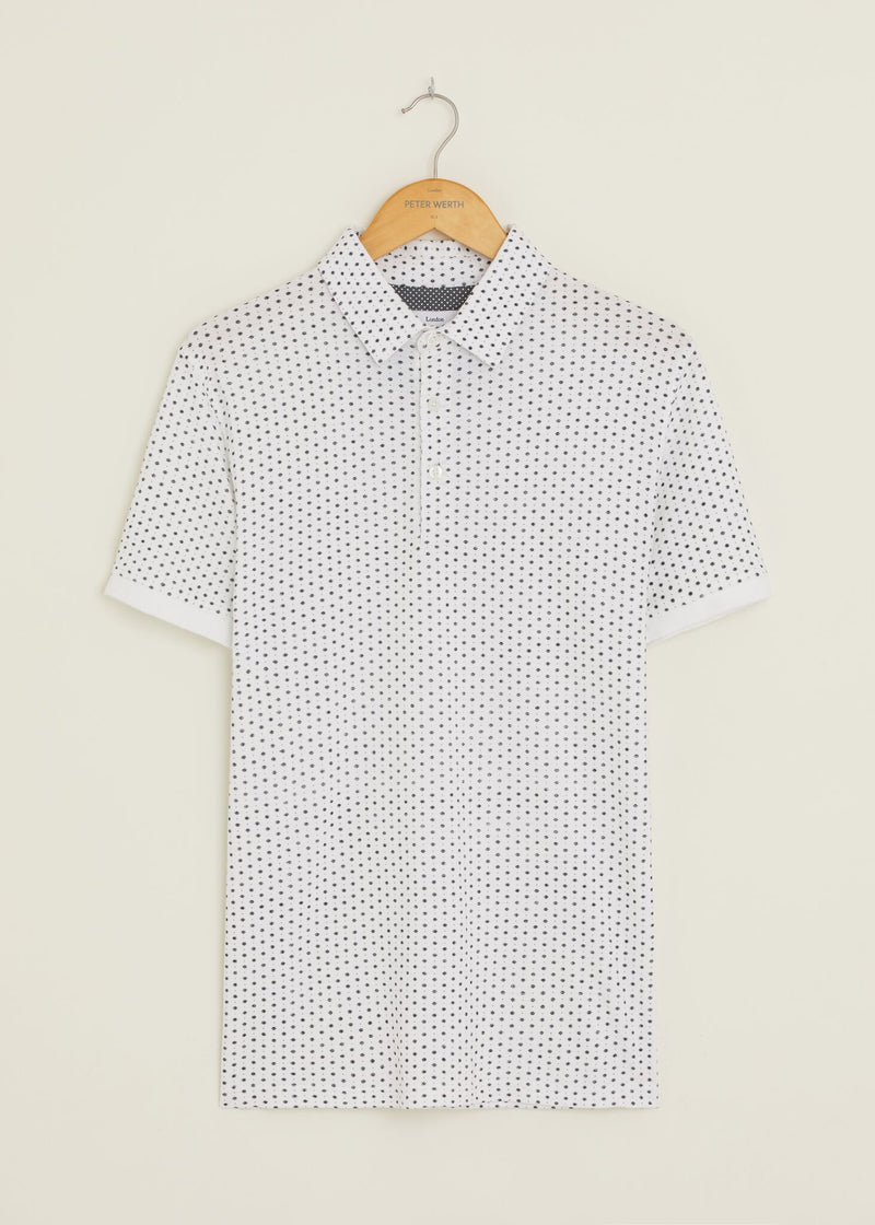 Maverick Polo Shirt - White