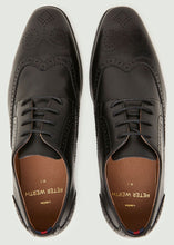 Load image into Gallery viewer, Mavon Wing Tip Brogue - Black
