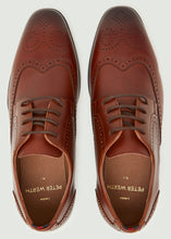 Load image into Gallery viewer, Mavon Wing Tip Brogue - Tan