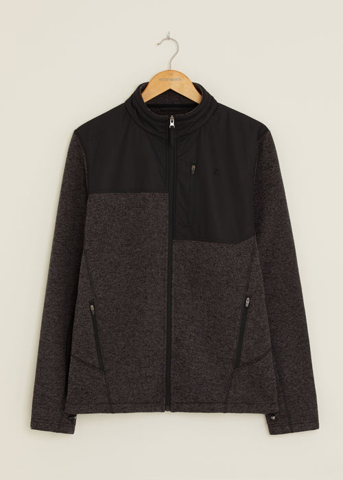 Mackay Fleece Jacket - Black