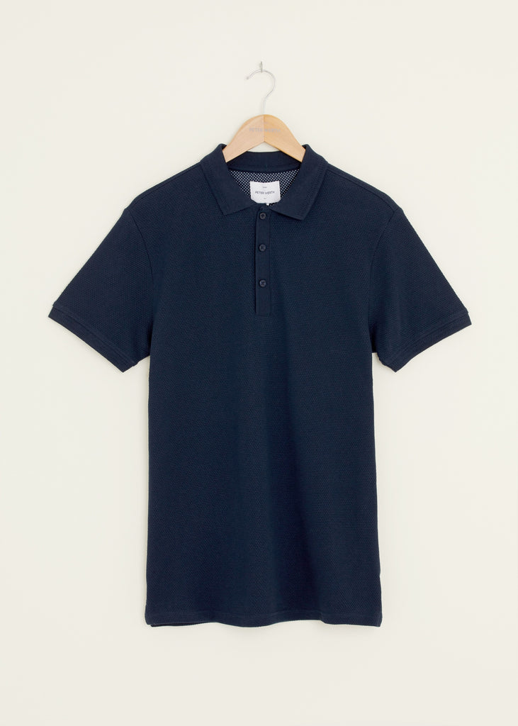 Baran Polo Shirt - Navy