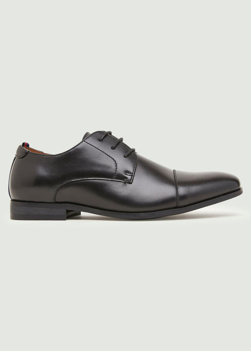 Neverson Derby Shoe - Black
