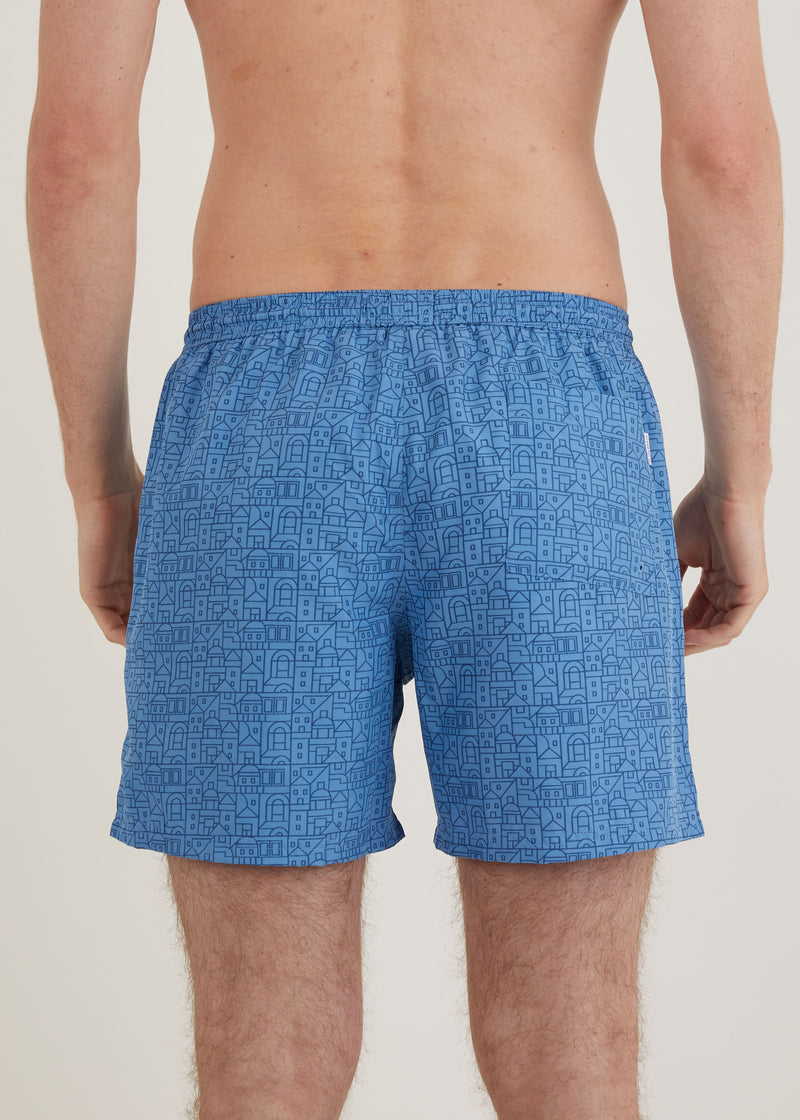 Oxley Swim Shorts - Blue