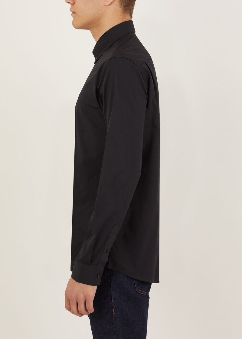 Peak Long Sleeved Shirt - Black