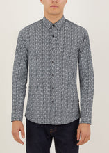 Load image into Gallery viewer, Retro Long Sleeved Shirt - Navy
