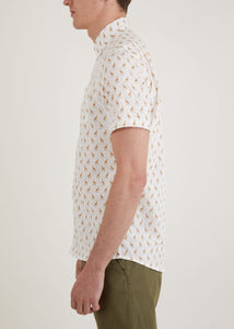 Savanna Short Sleeve Shirt - Ecru