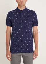 Load image into Gallery viewer, Seahorse Polo Shirt - Navy