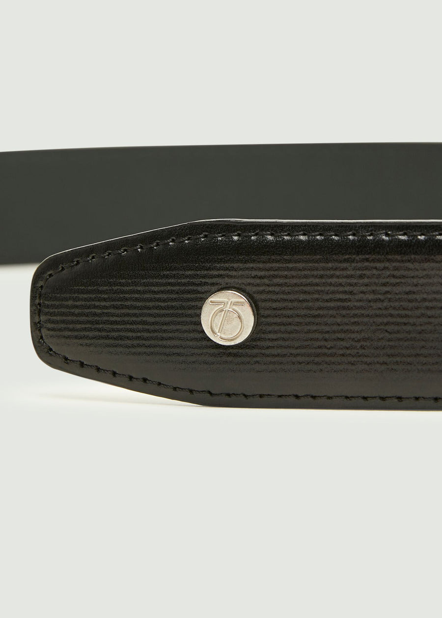 Sherry Leather Belt - Black