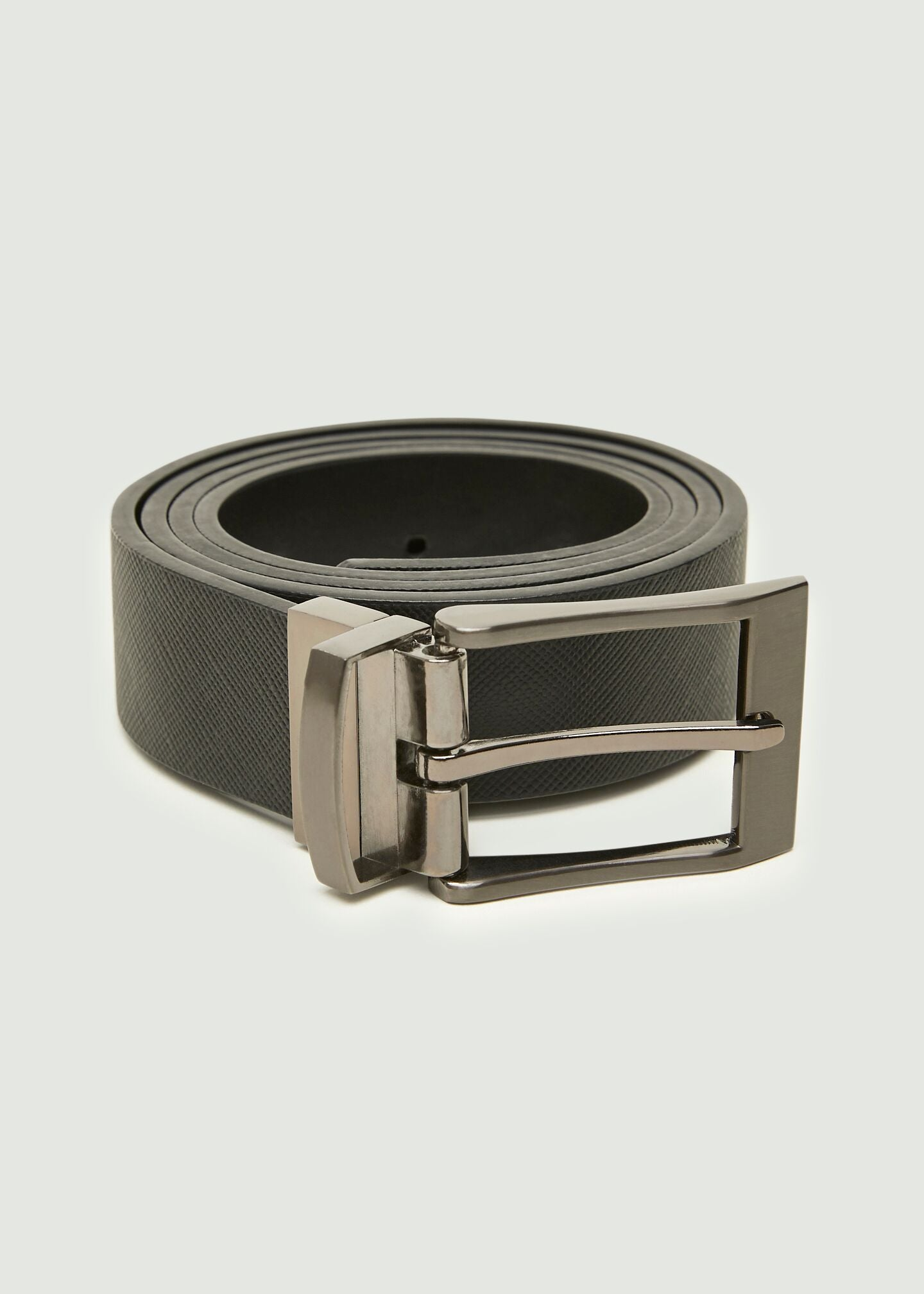 Smart Leather Belt - Black