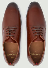 Load image into Gallery viewer, Smith Plain Toe Derby Shoes - Tan
