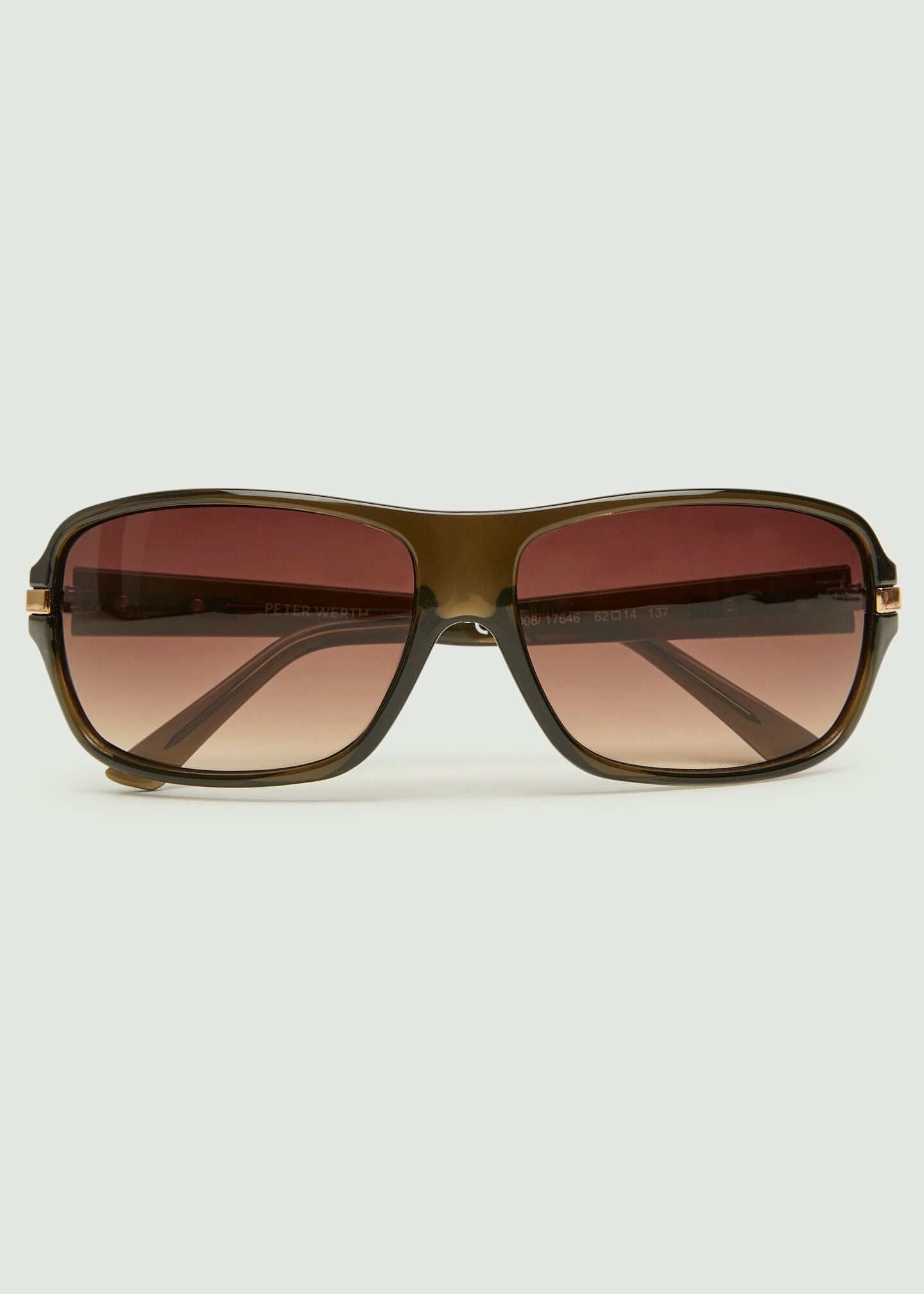 Stoffel Medium Wrap Sunglasses - Brown