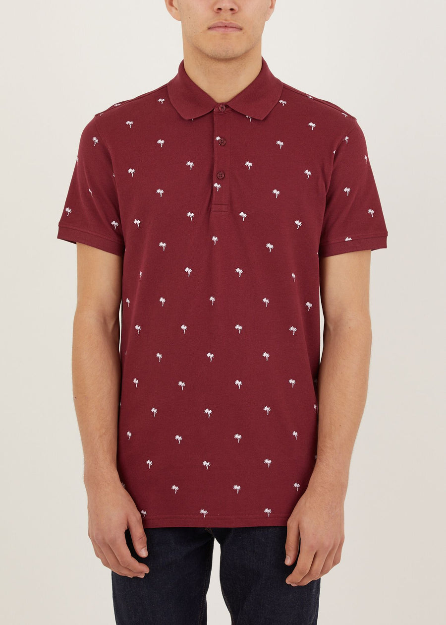 Tropic Polo Shirt - Red