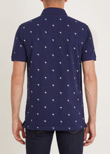 Load image into Gallery viewer, Tropic Polo Shirt - Navy