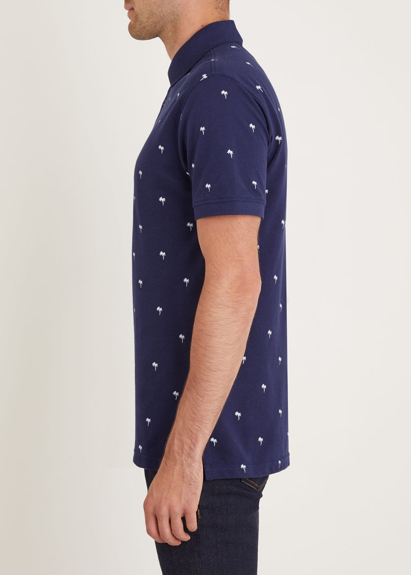 Tropic Polo Shirt - Navy