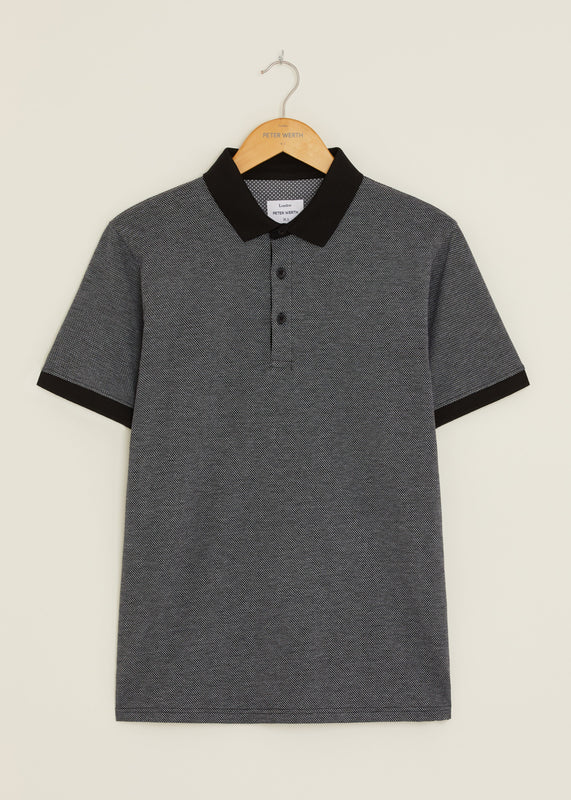 Union Polo Shirt - Black