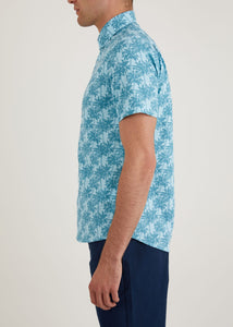 Vale Short Sleeve Shirt - Light Blue