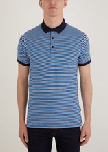 Load image into Gallery viewer, Vassall Polo Shirt - Blue