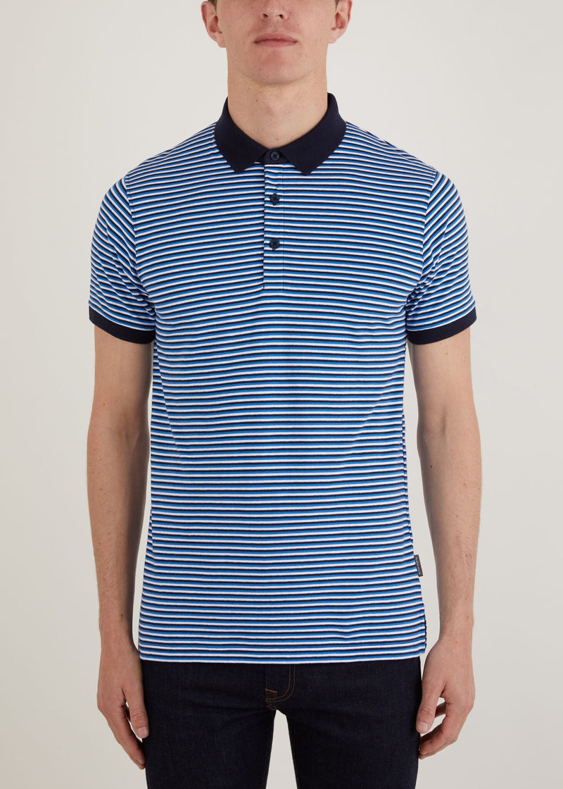 Vassall Polo Shirt - Blue