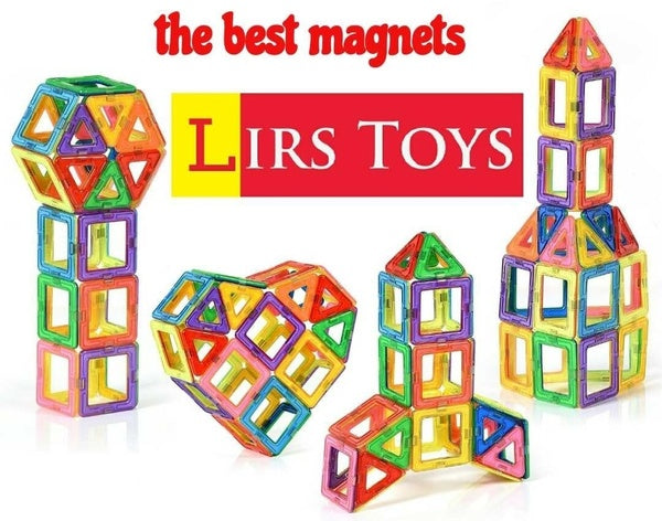 Lot of 100 Units of LIRS TOYS MAGNETIC BLOCKS 30PC Toy Sets