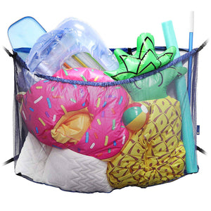 Lot of 470 Pool Storage Organizer Bag - Multiway Convertible Mesh Net Holder - UNDER $8 PER UNIT