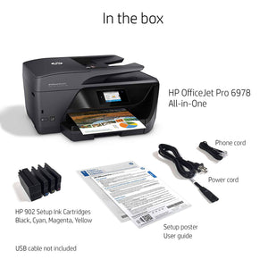 Lot of 50 Units HP OfficeJet Pro 6978 All-in-One Wireless Printer, HP Instant Ink