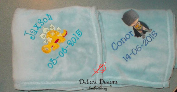 Personalised Towels and Blankets