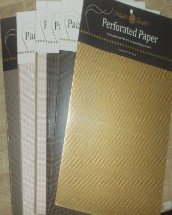 Mill Hill Perforated Paper & Kits