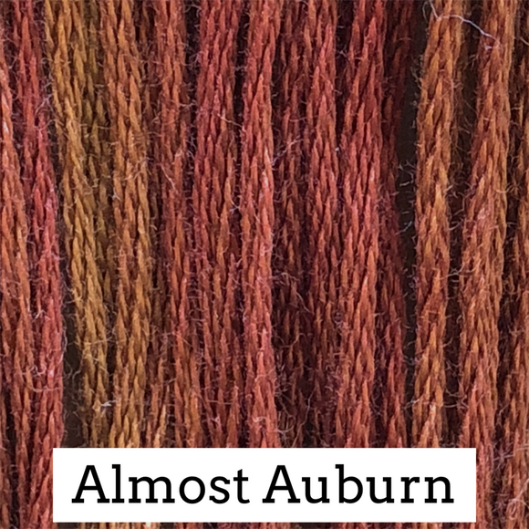Classic Colorworks Stranded Cotton - Almost Auburn