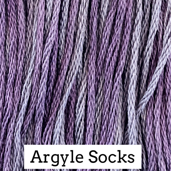 Classic Colorworks Stranded Cotton - Argyle Socks