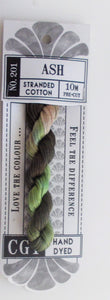 Cottage Garden Threads - 201 Ash Stranded Cotton