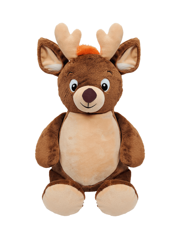 Personalised Christmas Deer Cubbie - Eric the Reindeer