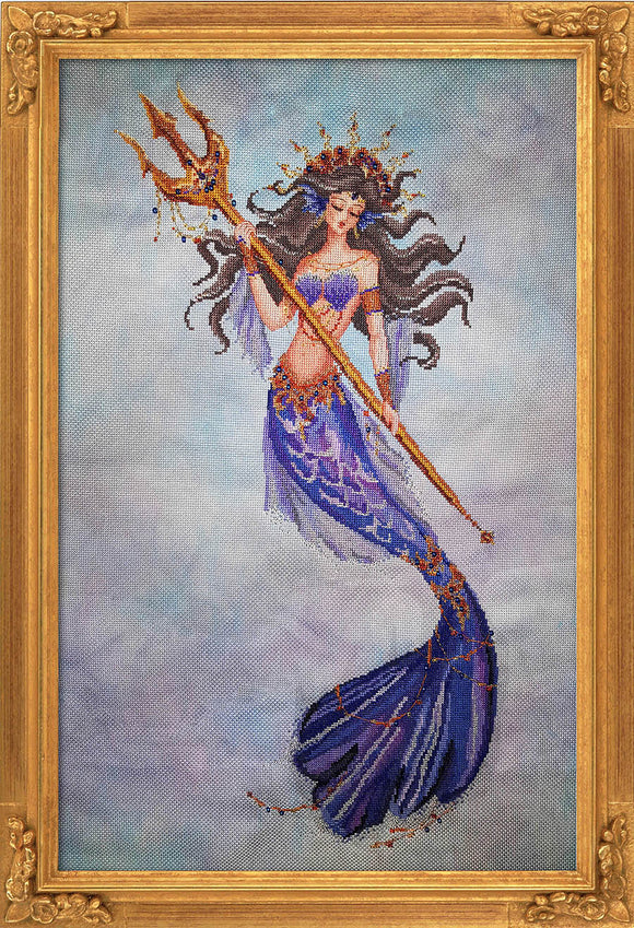 Bella Filipina Designs - Heiress of Atlantis cross stitch chart