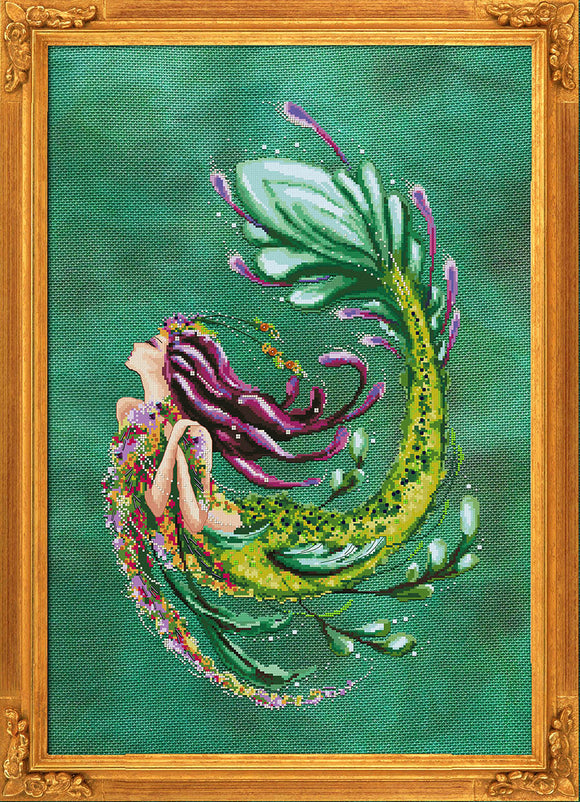 Bella Filipina Designs - Enchantress of the Abyss cross stitch chart