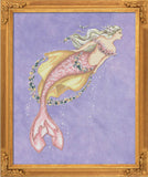 Bella Filipina Designs - Akoya Pearl Mermaid cross stitch chart *NEW DESIGN*