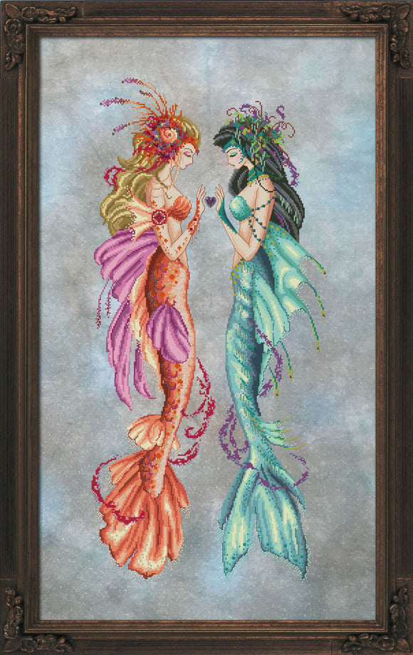Bella Filipina Designs - Daughters of Estuary -  cross stitch chart **NEW DESIGN**