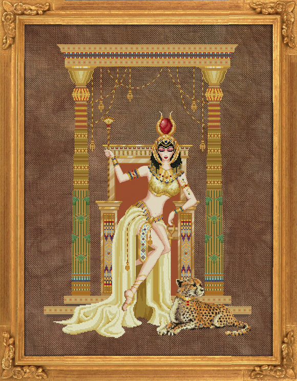 Bella Filipina Designs - Cleopatra, Queen of the Nile cross stitch chart *NEW DESIGN*