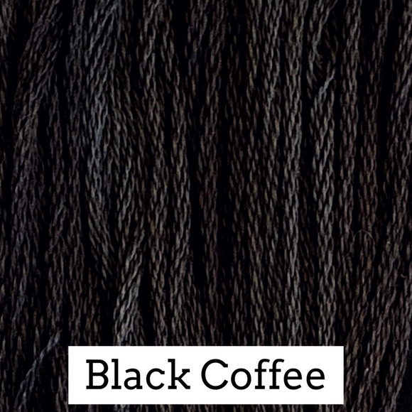 Classic Colorworks Stranded Cotton - Black Coffee