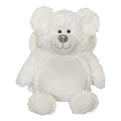 Personalised Embroidery Buddy - Angel Buddy Bear - Debart Designs Embroidery