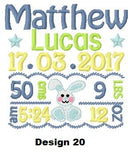 Personalised  Lamb Cubby