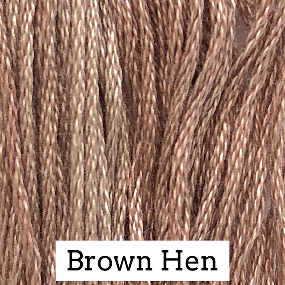 Classic Colorworks Stranded Cotton - Brown Hen