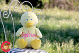 Personalised Duck Cubby - Debart Designs Embroidery