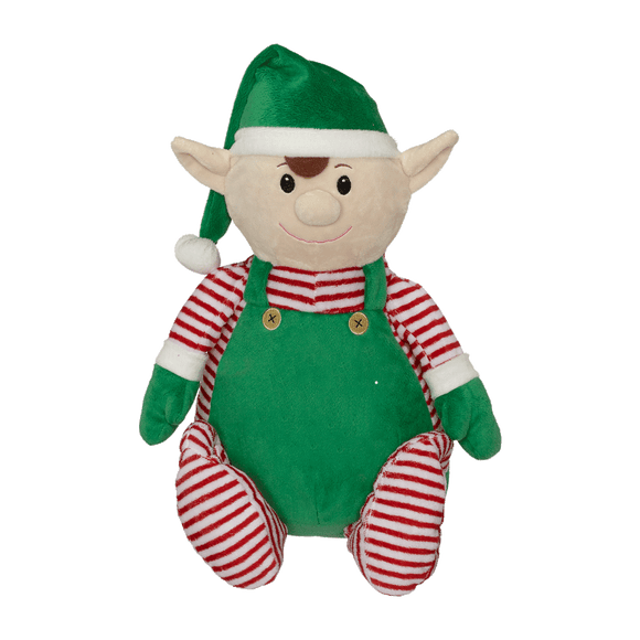 Personalised Embroider Buddy - Edgar the elf