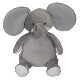 Personalised Embroidery Buddy - Elford Elephant - Grey - Debart Designs Embroidery